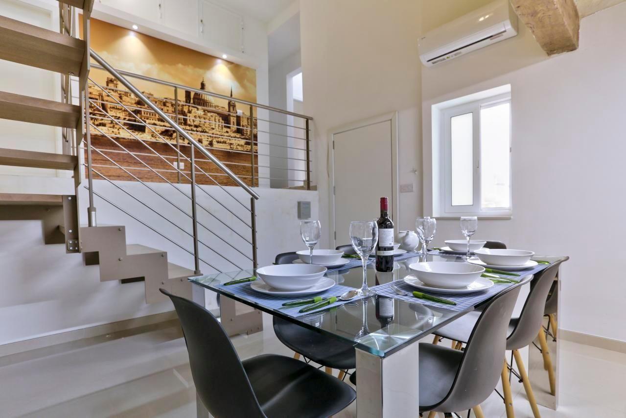 Valletta 3 Schlafzimmer Duplex Penthouse