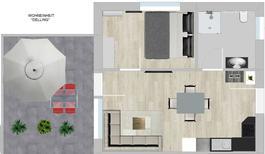 Mieszkanie wakacyjne 1850601 dla 4 osoby w Großkoschen