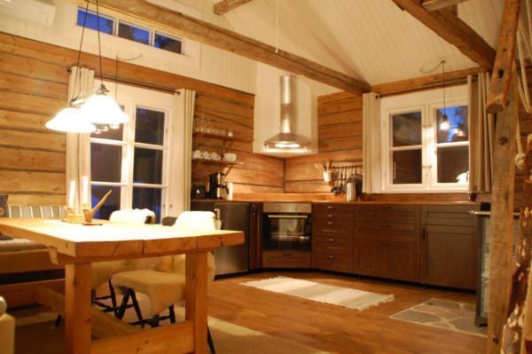 Charmantes Ferienhaus in der Wildnis Lapplands