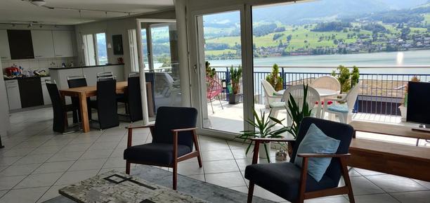 Für 5 Personen: Hübsches Apartment / Ferienwohnung in der Region Zentralschweiz