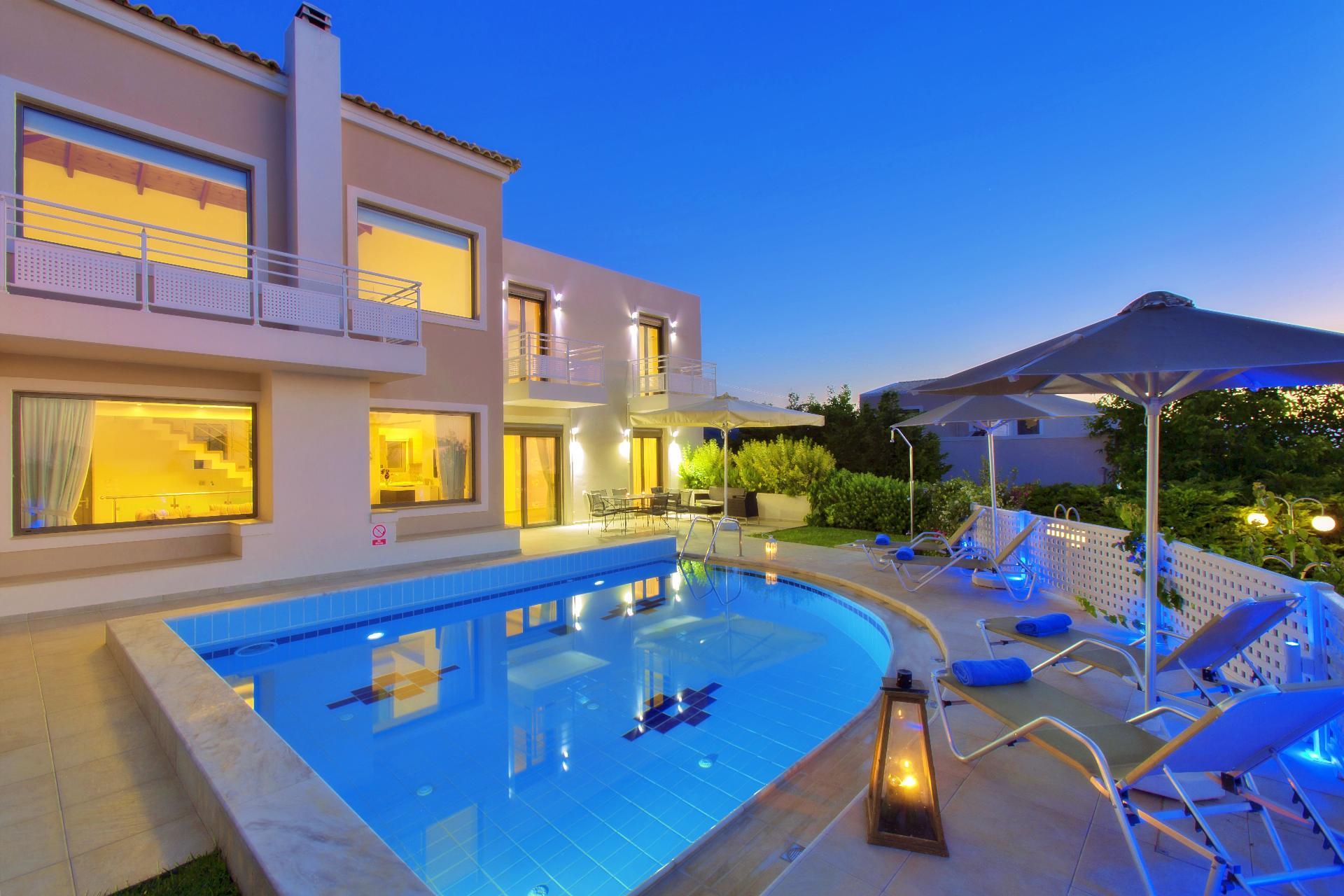 Ferienhaus mit Privatpool für 6 Personen  + 1   Kreta