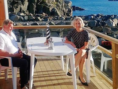 Gemütliches Ferienhaus : Region Rogaland für 9 Personen