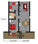 Holiday apartment 1928705 for 4 adults + 2 children in Burgtiefe