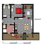 Appartement 1928707 voor 6 personen in Burgtiefe