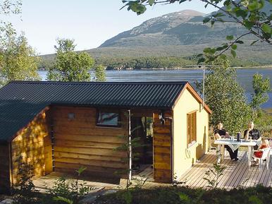Gemütliches Ferienhaus : Region Troms für 5 Personen