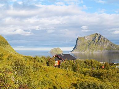 Gemütliches Ferienhaus : Region Lofoten für 6 Personen