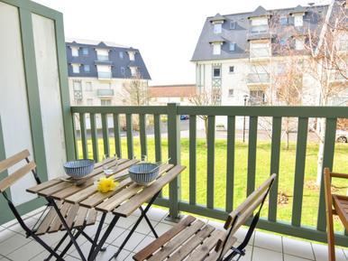 Für 3 Personen: Hübsches Apartment / Ferienwohnung in der Region Deauville