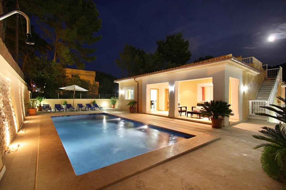 Ferienhaus mit Privatpool für 8 Personen in Cala Sant Vicenç Mallorca Nordküste von Mallorca