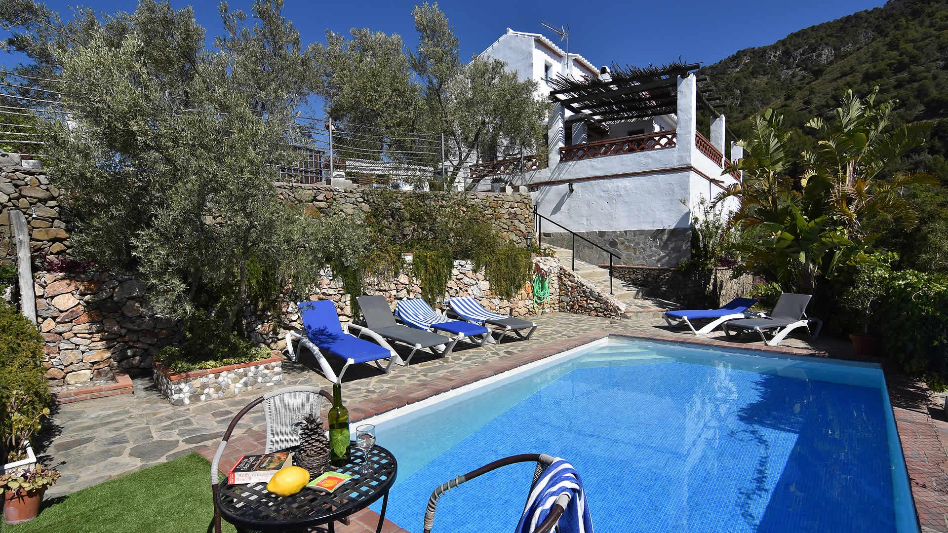 Ferienhaus mit Privatpool für 6 Personen in Frigiliana Andalusien Costa del Sol