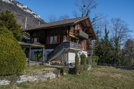 Gemütliches Ferienhaus : Region Ringgenberg für 11 Personen