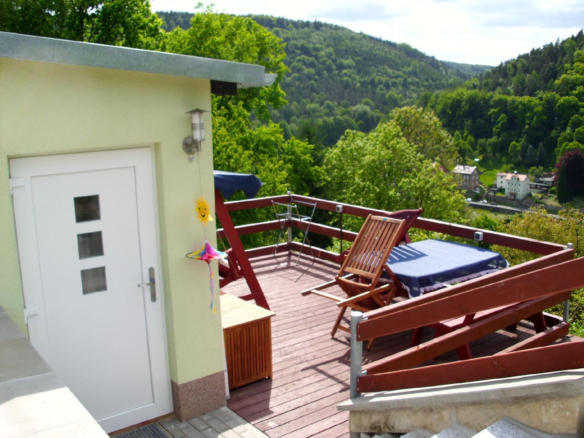 Ferienhaus Panorama-Blick mit 2 getrennten Schlafz