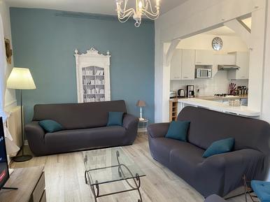 Gemütliches Ferienhaus : Region Capbreton für 7 Personen