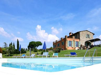 Gemütliches Ferienhaus : Region Toskana für 12 Personen