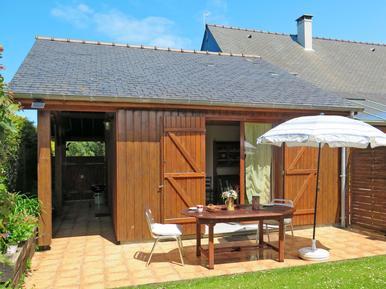 Gemütliches Ferienhaus : Region Cancale für 4 Personen