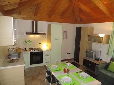 Gemütliches Ferienhaus : Region Trentino für 7 Personen