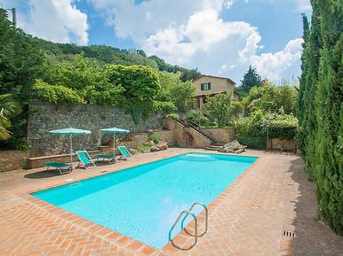 Gemütliches Ferienhaus : Region Volterra für 6 Personen