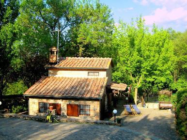 Gemütliches Ferienhaus : Region Chiusdino für 5 Personen