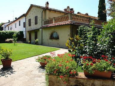 Gemütliches Ferienhaus : Region Castellina Scalo für 4 Personen