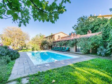 Gemütliches Ferienhaus : Region Gaiole In Chianti für 9 Personen