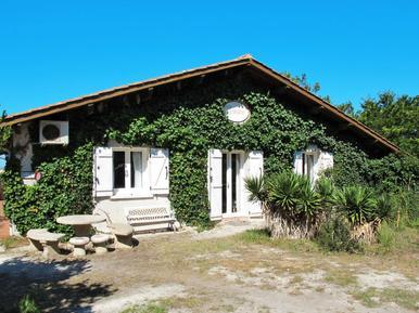 Gemütliches Ferienhaus : Region Lacanau für 7 Personen