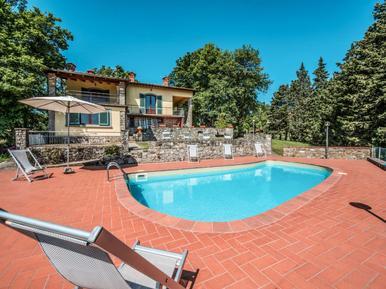 Gemütliches Ferienhaus : Region Cavriglia für 8 Personen