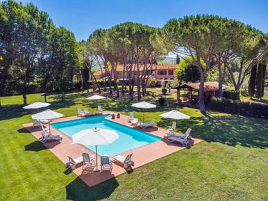 Für 4 Personen: Hübsches Apartment / Ferienwohnung in der Region Suvereto