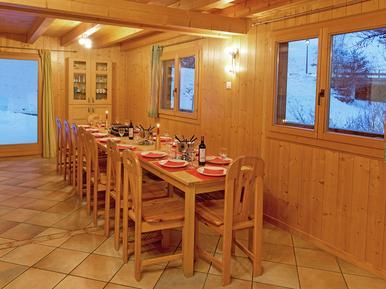 Gemütliches Ferienhaus : Region Wallis für 16 Personen