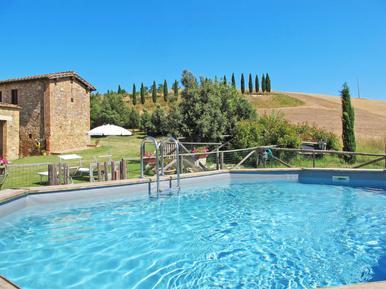 Gemütliches Ferienhaus : Region San Giovanni d'Asso für 10 Personen
