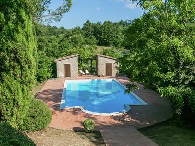 Gemütliches Ferienhaus : Region Santa Fiora für 6 Personen