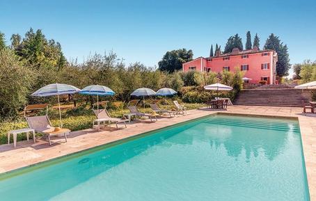 Gemütliches Ferienhaus : Region Rapolano Terme für 9 Personen