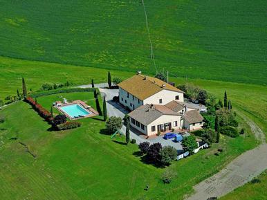 Für 6 Personen: Hübsches Apartment / Ferienwohnung in der Region Pienza