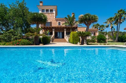 Gemütliches Ferienhaus : Region Mallorca für 10 Personen