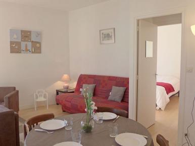 Für 5 Personen: Hübsches Apartment / Ferienwohnung in der Region Cabourg