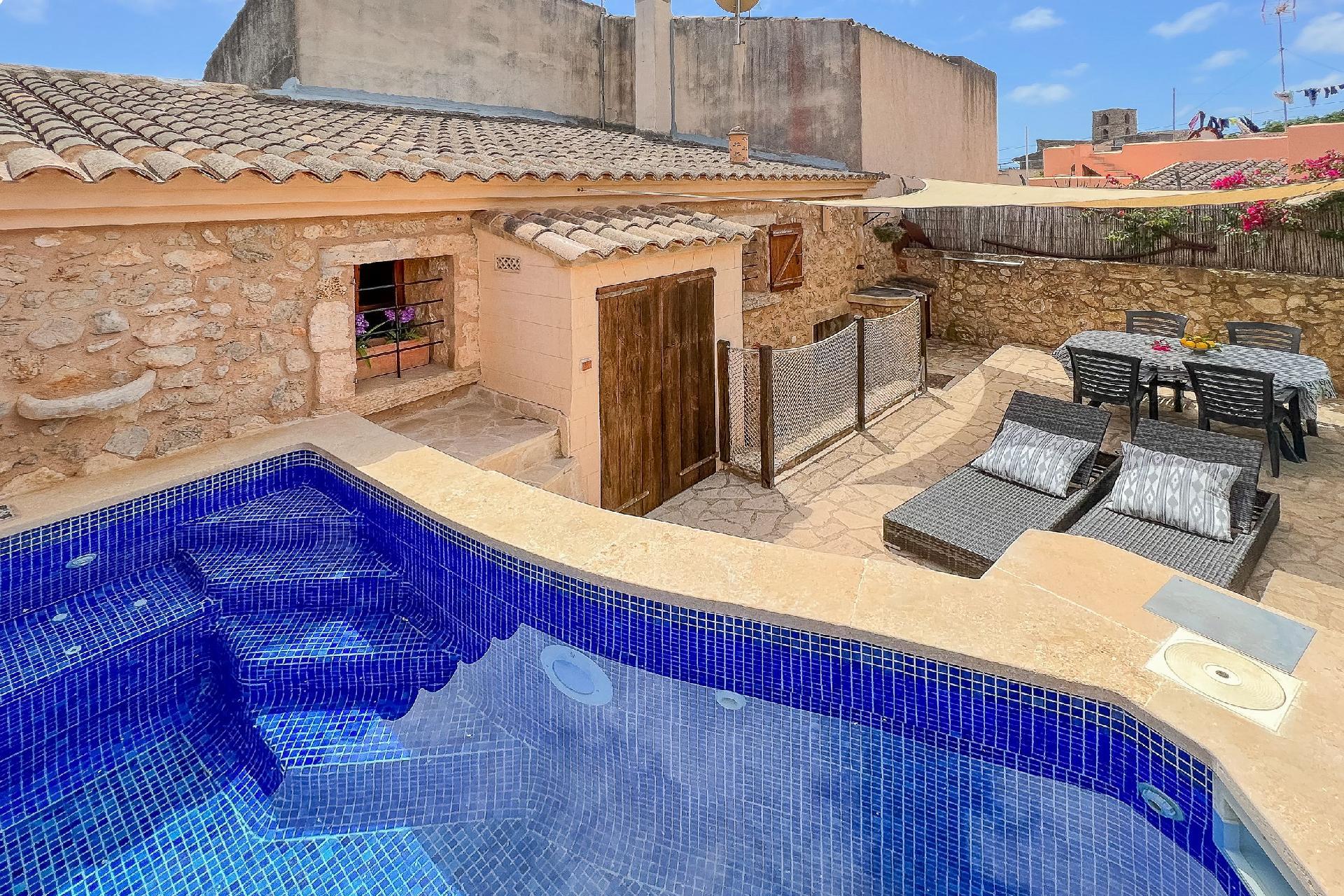 Ferienhaus mit Privatpool für 6 Personen ca 100 m² in S Horta Mallorca Südostküste von Mallorca