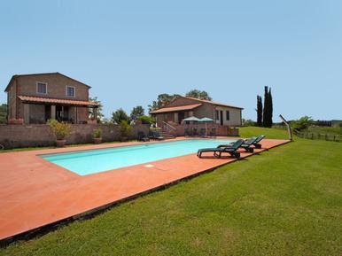 Gemütliches Ferienhaus : Region Saturnia für 11 Personen