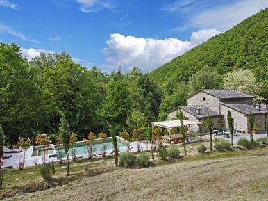 Gemütliches Ferienhaus : Region Toskana für 15 Personen