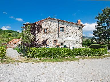 Für 4 Personen: Hübsches Apartment / Ferienwohnung in der Region Santa Fiora