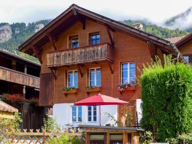 Gemütliches Ferienhaus : Region Berner Oberland für 4 Personen