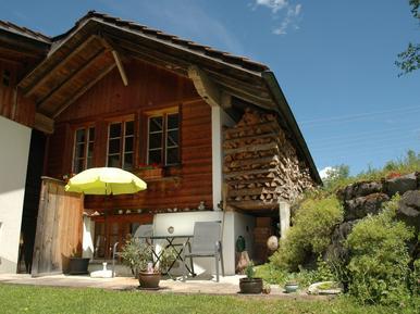 Gemütliches Ferienhaus : Region Berner Oberland für 2 Personen