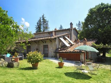 Gemütliches Ferienhaus : Region Santa Fiora für 11 Personen
