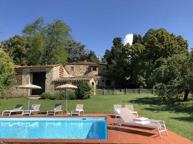Gemütliches Ferienhaus : Region Castellina Scalo für 7 Personen