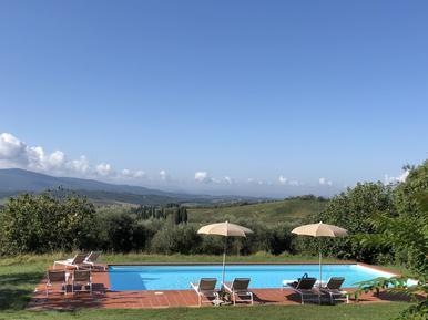 Für 8 Personen: Hübsches Apartment / Ferienwohnung in der Region Castellina Scalo