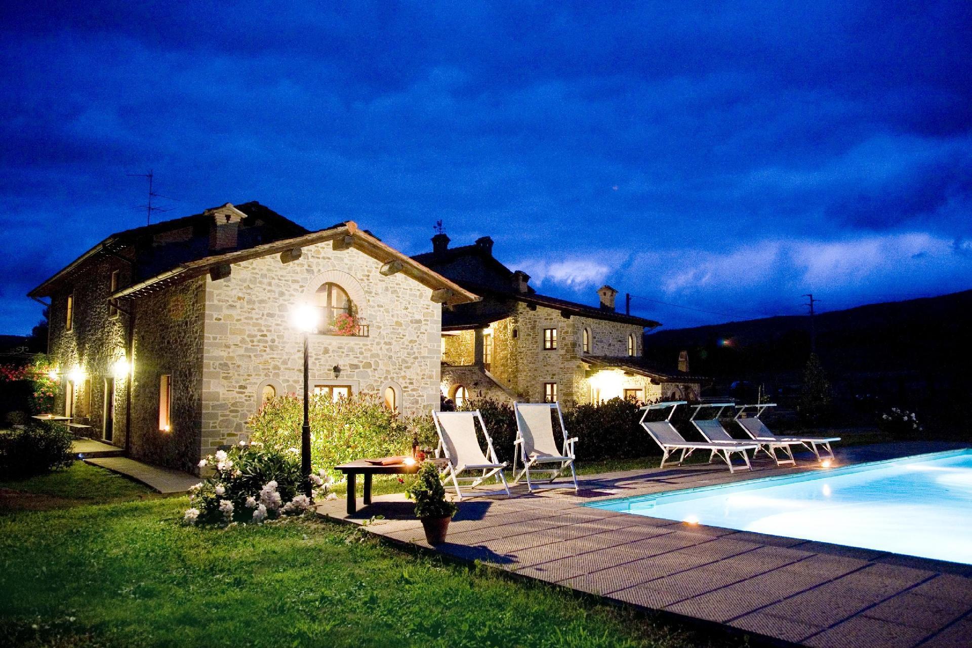 Ferienhaus mit Privatpool für 12 Personen ca. Bauernhof