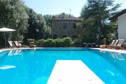 Gemütliches Ferienhaus : Region Gambassi Terme für 20 Personen