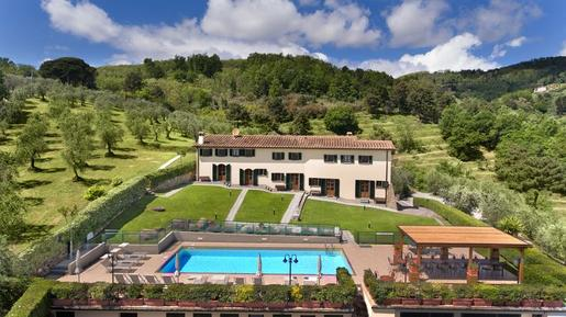 Gemütliches Ferienhaus : Region Montecatini Terme für 22 Personen