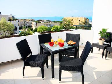 Für 8 Personen: Hübsches Apartment / Ferienwohnung in der Region Cagnes-sur-Mer
