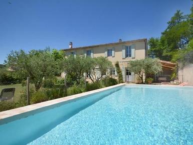 Gemütliches Ferienhaus : Region Provence für 9 Personen