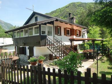 Gemütliches Ferienhaus : Region Trentino für 4 Personen