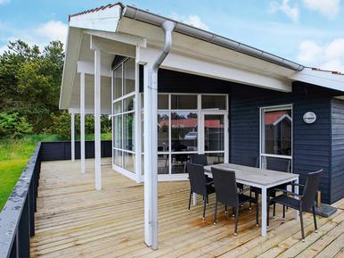 Gemütliches Ferienhaus : Region Dänische Westküste für 8 Personen