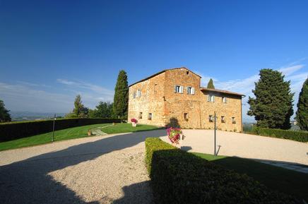 Gemütliches Ferienhaus : Region San Gimignano für 13 Personen